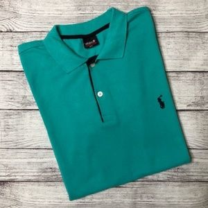 POLO Ralph Lauren Men's Turquoise Polo Shirt